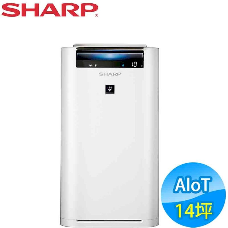 SHARP夏普 14坪 AIoT智慧空氣清淨機 (KC-JH61T-W)