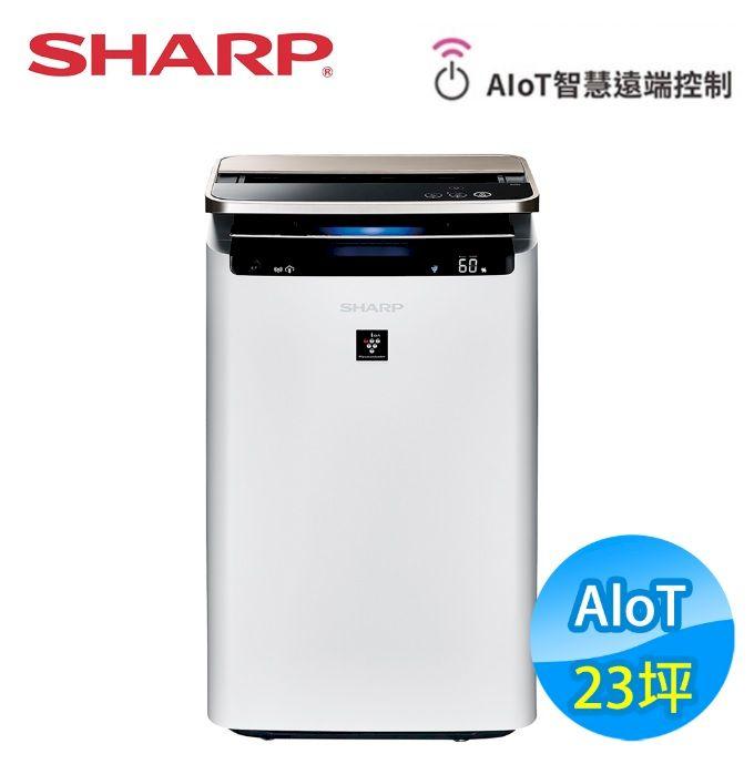 SHARP夏普 23坪 AIoT智慧空氣清淨機 (KI-J101T-W)