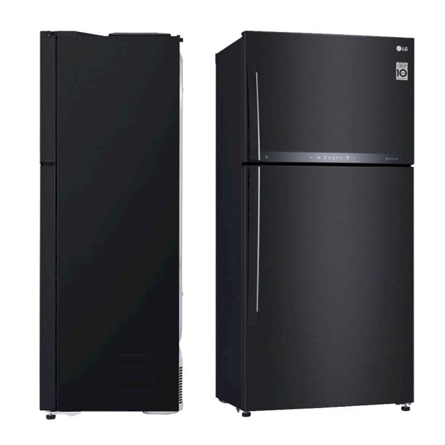 LG 608公升 直驅變頻上下門冰箱 夜墨黑(GR-HL600MB)
