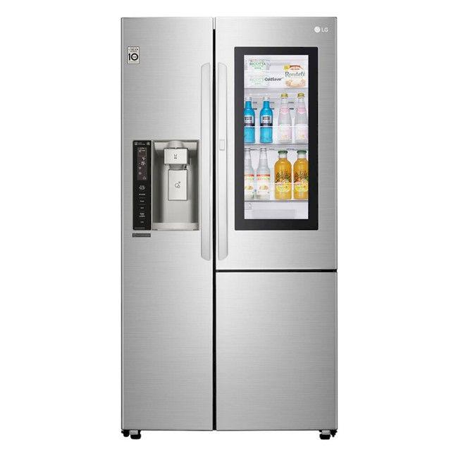 LG 761公升 InstaView敲敲看門中門冰箱(GR-QPL88SV)