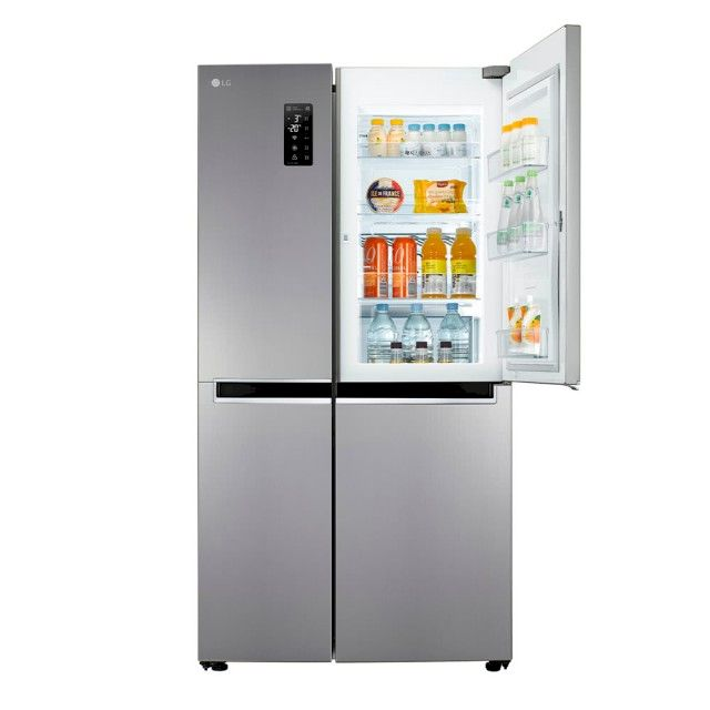 LG 821公升 WiFi門中門對開冰箱 星辰銀(GR-DL88SV/GR-DL88W)