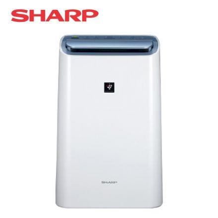 SHARP 夏普 10公升一級能效衣物乾燥HEPA空氣淨化除濕機(DW-H10FT-W)