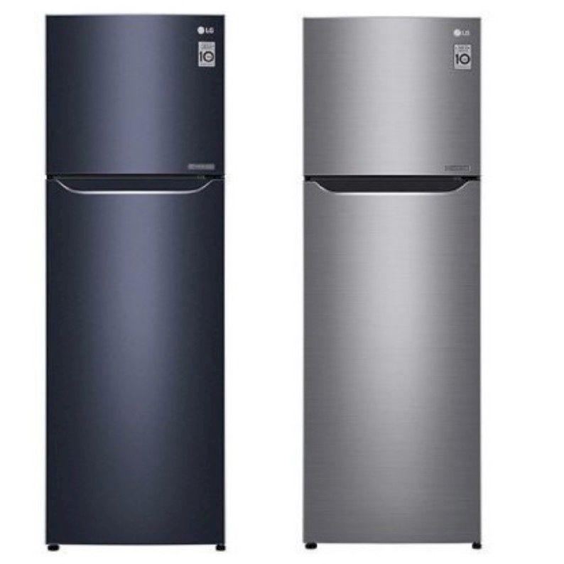 LG 253公升 直驅變頻上下門冰箱  (GN-L307C/GN-L307SV)
