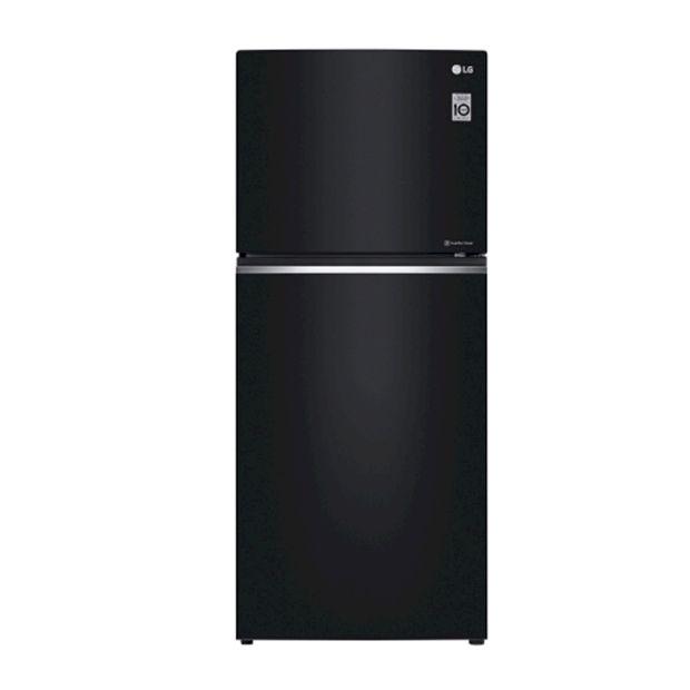 LG 393公升 直驅變頻上下門冰箱 曜石黑 (GN-BL430GB)