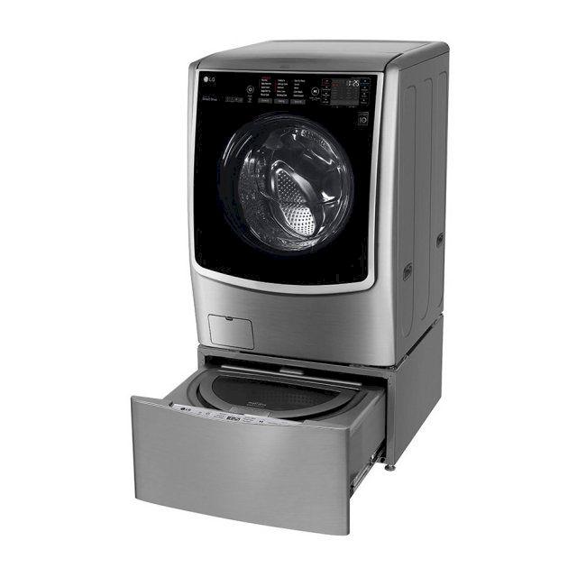 LG 21+2.5公斤 蒸洗脫烘TWINWash雙能洗洗衣機 (F2721HTTV+WT-D250HV)