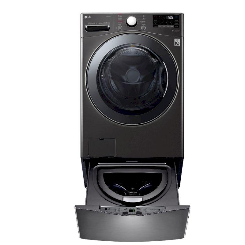 LG 19+2.5公斤 蒸洗脫烘TWINWash雙能洗洗衣機 (WD-S19VBS+WT-D250HB)