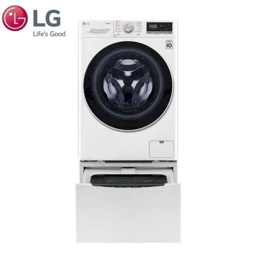LG 9+2公斤 蒸洗脫烘TWINWash雙能洗洗衣機 (WD-S90VDW+WT-D200HW)