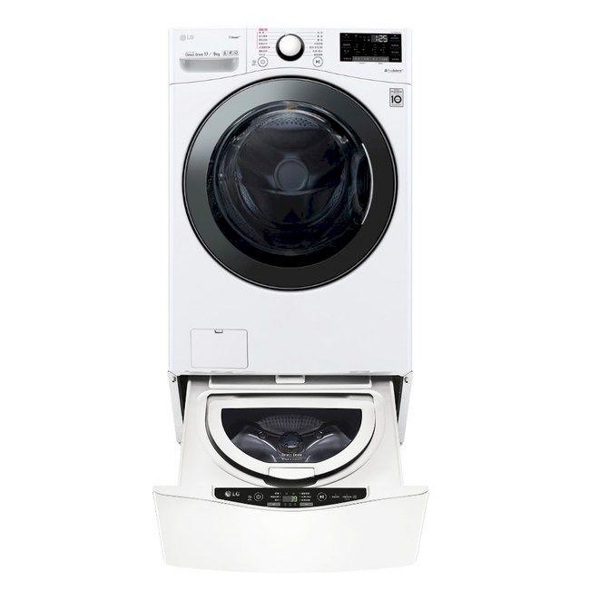 LG 17+2.5公斤 蒸洗脫烘TWINWash雙能洗洗衣機 (WD-S17VBD+WT-D250HW)